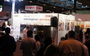 Rational Ovens stand at Hospitality Show