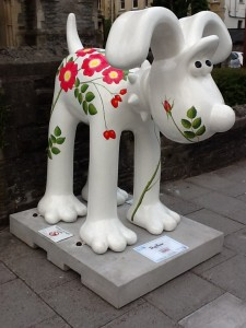 Dog Rose Gromit