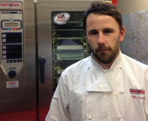 Tim Calvert Rational Ovens Regional Chef for SW England