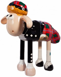 Hamish from Shaun in the City Trail