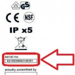 Where to find your Serial Number