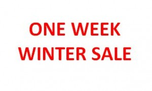 One week winter sale of Rational cleaning products