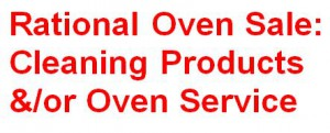 Rational oven online sales and service