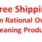 Want Free Shipping on Rational Cleaning Products?