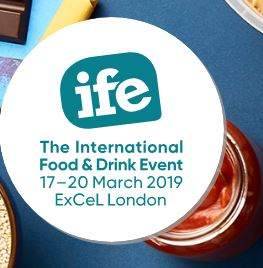 International Food and Drink Event logo 2019