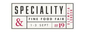 Speciality & Fine Food logo 2019